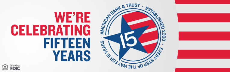 We're celebrating our 15th anniversary with a special 15 month certificate of deposit with a 1.5% APY