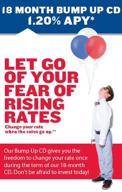 18 Month Bump Up CD Special